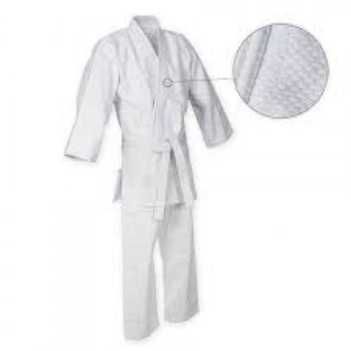 Кимоно дзюдо белое Ayoun 533-120 450 гр