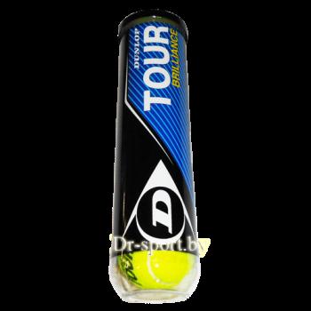 Мяч для большого тенниса DUNLOP Upper Mid TOUR BRILLIANCE  2197