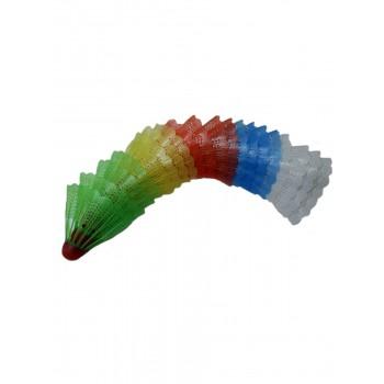 Волан для бадминтона пластик 7104MY-92