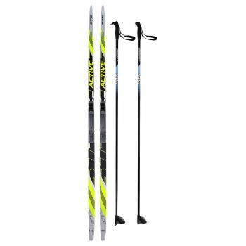 Лыжный комплект STC 180 см. с креплением NN75