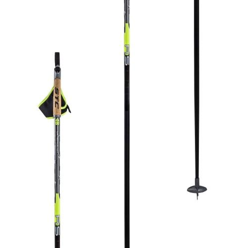 Палки лыжные уголь STC RS 160 см