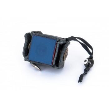 Держатель для мела Genuine Leder с кнопкой, черный 45.139.00.0