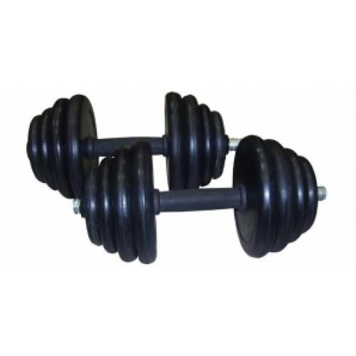 Гантель обрезиненная 5 кг. GW-DM-10-1