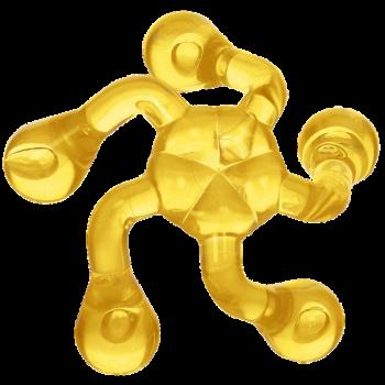 Массажер Лапонька-1 желтый