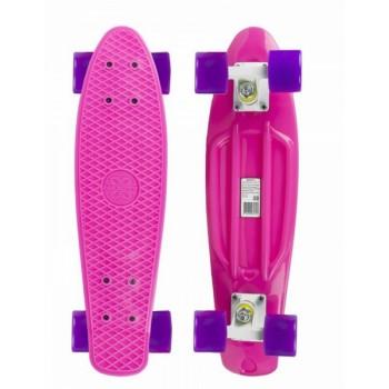Скейтборд  MaxCity big розовый