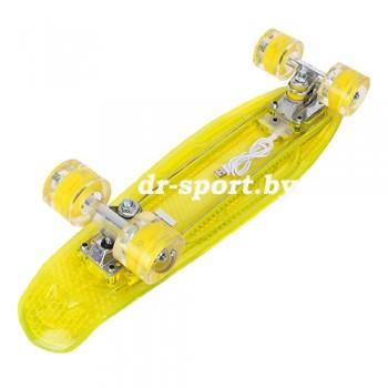Скейтборд AR-40 желтый
