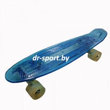 Скейтборд AR-40 синий