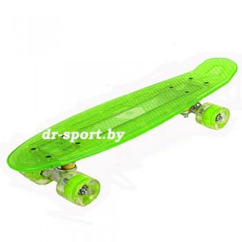Скейтборд AR-40 зеленый