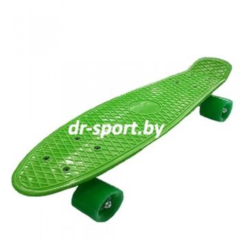Скейтборд  AR-38 зеленый