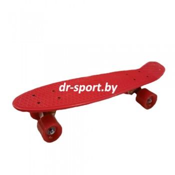 Скейтборд  AR-38 красный