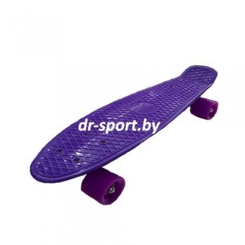 Скейтборд  AR-38 фиолетовый