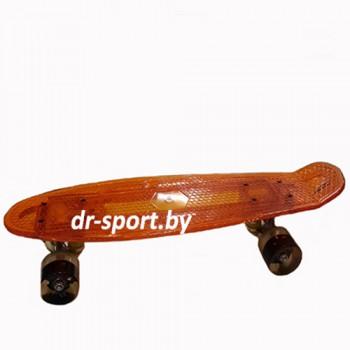 Скейтборд AR-40 оранжевый