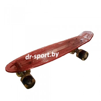 Скейтборд AR-40 красный