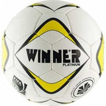 Мяч футбольный Winner Platinum/Fifa №5 white