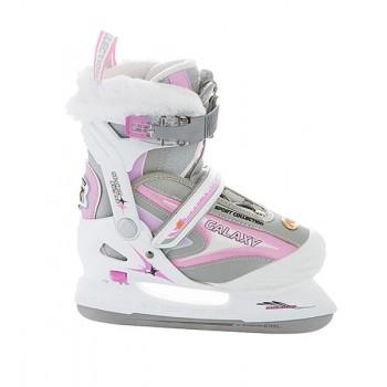 Коньки ледовые CK(Спортивная коллекция) Galaxy girl pink 28-31