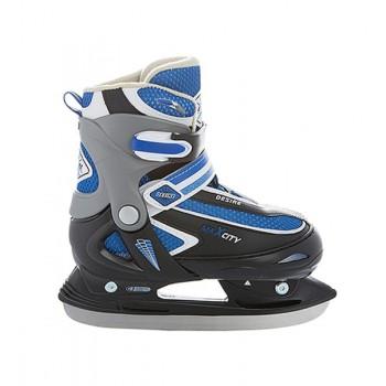 Коньки ледовые MaxCity Desire Boy blue 30-33