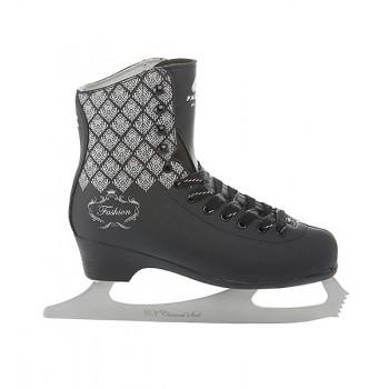 Коньки фигурные CK(Спортивная коллекция) Fashion Black LUX 38