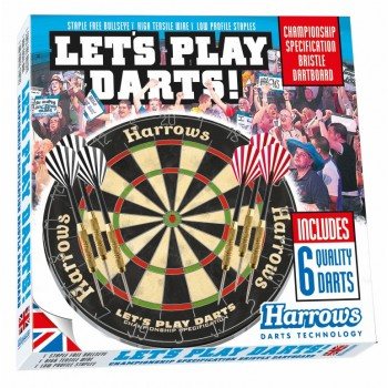 Дартс Harrows Lets Play Darts Game Set