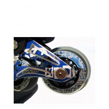 Коньки роликовые MaxCity PUNTO X-208 S(33-36) blue